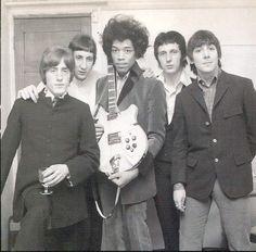 Jimi Hendricks and The Who 60s Music, Music Love, Music Is Life, Rock Music, Rock N Roll, Heavy Metal, Jazz, Jimi Hendrix Experience, Roger Daltrey
