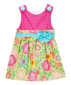 Another great find on #zulily! Pink Janie Mae Dress - Infant & Toddler #zulilyfinds
