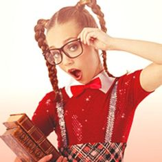 Dance Moms Maddie the book worm!!!