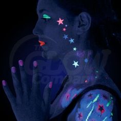 Uv Face Paint Uv Body Paint