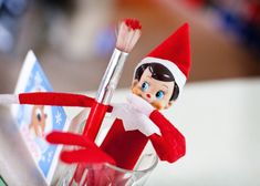 More CUTE Elf on the Shelf ideas!