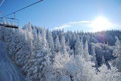 Skiing on Burke Mountain, Vermont