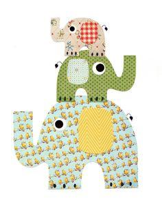 Nursery Artwork Print Baby Room Decoration por 3000yardsofthread