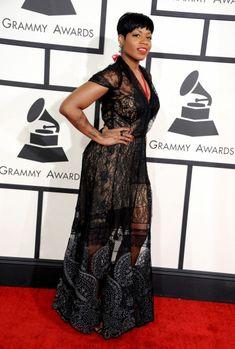 Fantasia Barrino @ the 2014 Grammys