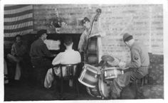 Tongres, Impromptu Band, from 25th General Hospital: Courage & Skill in World War II -- for an exhibit highlighting movements, personal     narratives and medical contributions see http://digitalprojects.libraries.uc.edu/exhibits/25thGeneralHospital/;     for entire collection see http://digproj.libraries.uc.edu:8180/luna/servlet/s/4lcgzb; connect on Facebook and     share your own WWII General Hospital stories at http://www.facebook.com/UC25thGeneralHospital.