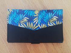 Compagnon Complice bleu motif feuilles cousu par Amélie Z - Patron Sacôtin
