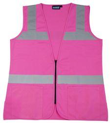61909 S721 FEMALE VEST NON ANSI Pink