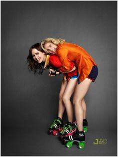 Ellen Page et Drew Barrymore posent pour Marie Clair