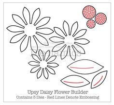Daisy Pattern..com stencils construir \