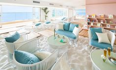 ソラノビーチ Books&Café|星野リゾート リゾナーレ熱海