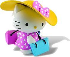 Figurine Hello Kitty Shopping girl