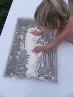 """""""clean clouds"""" - and great site - """"play at home mom"""" - positive parenting and play based learning."""