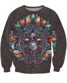 Heart of Mask Crewneck Sweatshirt