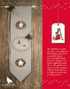 Buch Advent im Winterwald #acufactum #sticken #naehen #sew #crossstitch #kreuzstich #embroider #weihnachten #winter #christmas #book #buch #Wandbehang #Dekoration #deko