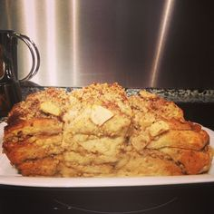 Mehl/Hefe/Milch/Butter/Rohrzucker/Nüsse/Äpfel/Zimt/ApfelZimtWalnussKuchen