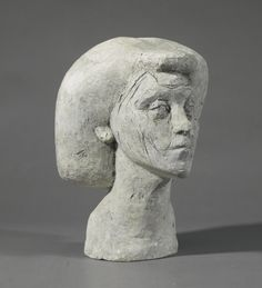 ALBERTO GIACOMETTI 1901 - 1966 EPREUVE POUR ISABEL plaster height: 30cm. Executed in 1936-37.
