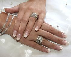 simple french nails