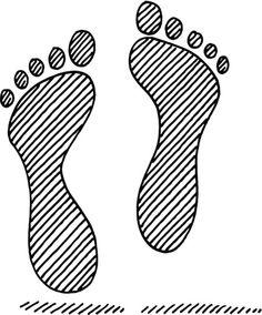 Footprint Symbol Drawing