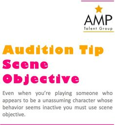Acting Tips! * * * * * * * * #Actors #Dancers #Singers #Models #Performers #Celebrities #Famous #AListTalent #Talent #Artists #Comics #Characters #Hosts #Broadcasters #Movies #Television #Film #Theatre #Voice #Print #Brands #Acting #Actorslife #Agency #Tips #Audition #AuditionTips #ActingTips #AdviceforActors ##FamousQuote #HowTo #TalentAgency #Representation #Toronto #NY #LA #London #AMPTalent #AMPTalentGroup