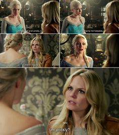"""""""I'm prickly?"""" Emma and Elsa - 4 * 10 """"Shattered Sight"""""""