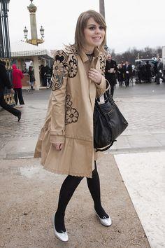 Beatrice Martin Photo - Valentino: Arrivals - Paris Fashion Week Womenswear Fall/Winter 2012