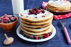 Pancakes aux Fruits Rouges 12