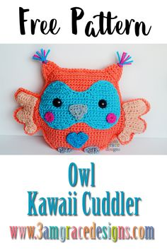 Hi friend! Happy Friday! We're thrilled to bring you THE most requested Kawaii Cuddler™ since our website was born. At least once a week we receive a private message, email or comment post requesting a sweet little owl. We've loved designing this little guy! We hope you enjoy making your very own Owl! We can't …