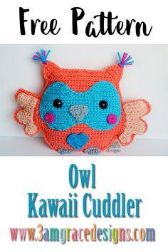 Owl amigurumi ragdoll rag doll free crochet pattern - Before After DIY Crochet Diy, Crochet Kawaii, Diy Crochet Bikini, Crochet Gratis, Crochet Pillow, Crochet Poncho, Doll Amigurumi Free Pattern, Crochet Dolls Free Patterns, Crochet Flower Patterns