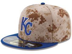 Kansas City Royals New Era MLB Authentic Collection Stars and Stripes  59FIFTY Cap Hats Kansas City 6c0fe97c629