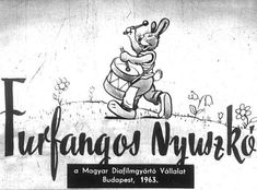 Furfangos Nyuszkó Film Strip, Budapest, Retro, Filmstrip, Retro Illustration, Mid Century