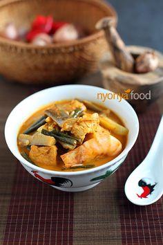 Salted Fish Curry (Gulai Kiam Hu Kut)