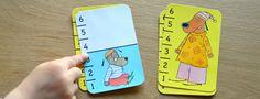 Bata-Waf s'apparente au jeu de bataille classique mais est adapté aux plus petits. Ici, c'est la taille des chiens dessinés qui compte. #BataWaf #Djeco #JeuxDeMath #JeuxDeCartes