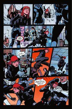 Preview: Black Widow #1, Story: Mark Waid
