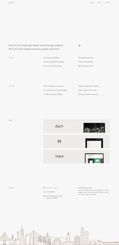 Knormal \\ Minimalist & responsive workshop website.