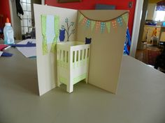 Pursuing Domestic Goddess-ness: Baby Shower Card Tutorial