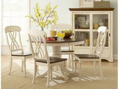 Ohana Collection captures the essence of a casual country home. Its appealing two tone color pallet of antique white and warm cherry finish, as well as antique black and warm cherry finish contribute to a warm country living you will love having in your home.