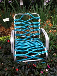 Recycled garden hose