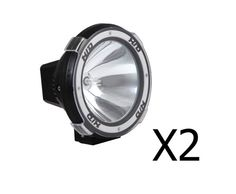 The 7″ HID Driving Spot Light has a 6000k bright Xenon bulb that will last up to 3000 hours. Featuring the new design Xenon Bulb, it is 3 times brighter and 10 times longer life than normal Halogen lights.   http://www.rosaelonline.com.au/product/2-x-7-inch-hid-xenon-spot-driving-lights-100w-12v-white/