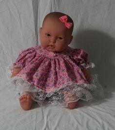 Baby Girl Dress, Girl Dress, Baby Dress, Infant Dress, Size 8 lbs. & up, Handmade