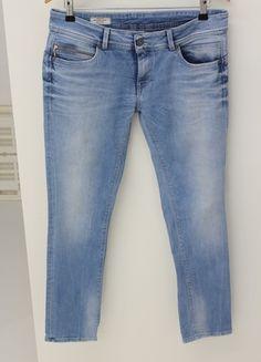 Pepe Jeans, Slim Fit, Pants, Fashion, Light Blue, Fashion Women, Trousers, Curve Dresses, Trouser Pants