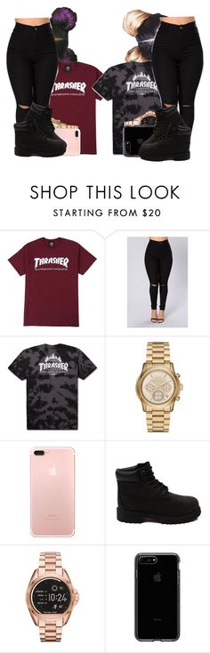 """""""#BestFriendJayla"""" by jalay ❤ liked on Polyvore featuring Michael Kors and Timberland"""