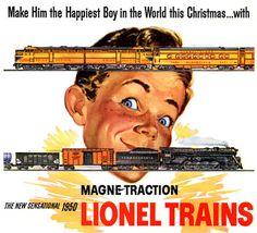 Lionel Trains Ad