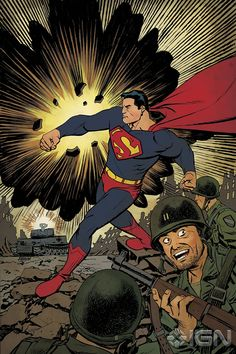 Superman Unchained 1 variant by Dave Johnson.