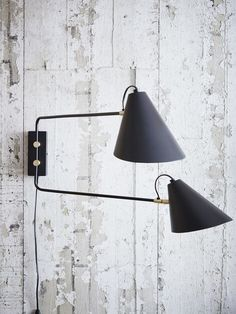 Club Double Arm Wall Lamp 2