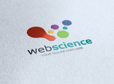 Web Science Logo Template by Super Pig Shop on Creative Market