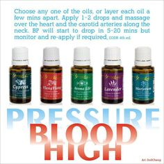 Essential Oils for High Blood Pressure HealthyFamilyMatters.com #healthyfamilyoils #essentialoils