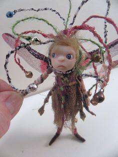 ooak TINKER the bell pIXiE fairy poseable 217 by DinkyDarlings