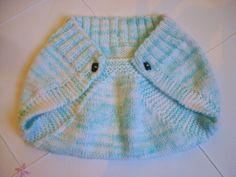 Minhas linhas e eu: Tapa fraldas e receita de sapatinho, em tricot