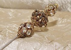 Vintage Hat Pin Stunner by TheEclecticDiva on Etsy,