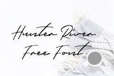 DLOLLEYS HELP: Hunter River Free Font